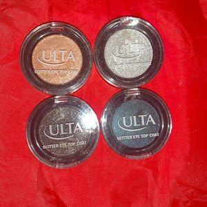 Ulta Glitter eye top coats!!
